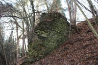 Opěrný pilíř hradu
