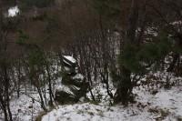 Zimní výšlap na hradisko Obrova noha u Otaslavic