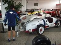 Z Křivoklátu do Lán na prohlídku Muzea sportovních vozů