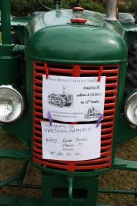 Setkání příznivců starých traktorů  v obci MAHOUŠ u Netolic 2011
