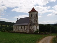 Vrchní Orlice  -  kostel sv. Jana Nepomuckého