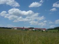 Pohled na klášterní komplex