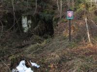 Kopce - jeskyně Naděje a okolní skalní deprese