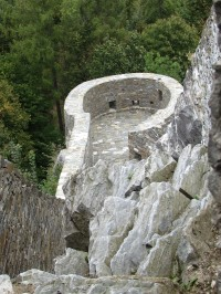 Hrad Sovinec - Kočičí bašta