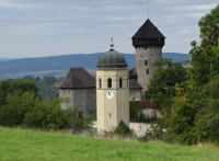 Hlavní věž hradu Sovinec