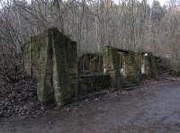 Luhačovice - ruiny Slovácké búdy