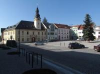Kojetín - Masarykovo náměstí