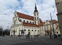Brno - socha koně s markrabětem Joštem