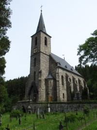 Horní Údolí - kostel sv.Jana Křtitele