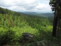 Příčný vrch - přírodní vyhlídky