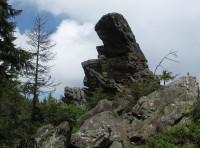 Příčný vrch - Hornické skály