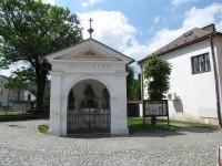 Hradec nad Moravici - kaple sv.Jana Nepomuckého