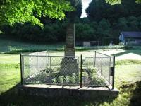 Růžďka - pomníky obětem