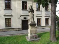 Novojičínské sochy sv.Antonína a sv.Ignáce