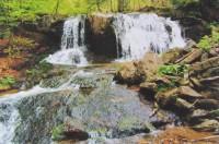 K vodopádům na Poniklém potoce