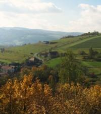 Brumov  - vrch Březová a kaple sv.Cyrila a Metoděje