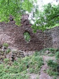 zříceniny hradu Cimburka a výhledy - 1.kolo