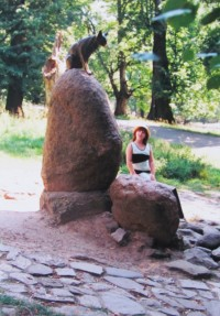 památník Lišky Bystroušky
