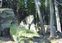 Ondřejovsko - Přední skály - skalní hradba