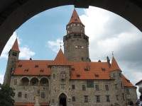 Ve stopách školního výletu do Javoříčka a na Bouzov - 2008