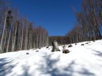 Procházka pod zimními svahy Čerňavy