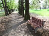Kvasice - zámecký park