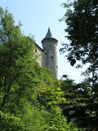 výhledy v džungli na hrad