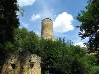 Chřiby - zřícenina hradu Cimburka