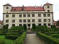 Renesanční zámecká zahrada v Bučovicích