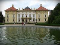 Zámecký park ve Slavkově u Brna