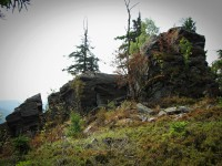 Černé kameny - vrchol ( 956 m)