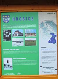 panel o historii obce