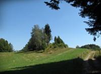 Vyhlídkový hřeben mezi osadou Na Lánici a Janišovským vrchem
