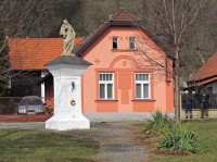 Zlín - socha sv.Antonína