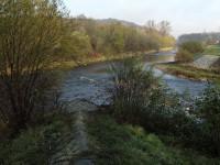 Soutok Bečev a park Abácie ve Valašském Meziříčí