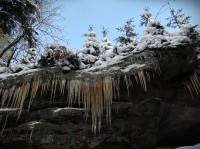 Cesta do zimního království Pulčínských skal