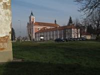 Štípa u Zlína - areál poutního chrámu