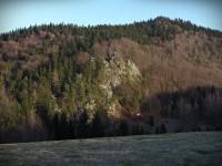 PULČINY - Rub a líc Hlavních skal