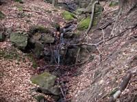 Valašskosenicko - Kaskádka u Zeleného kamene