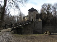 Na hrad Lukov z Velikové
