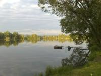 Štěrkopísková jezera Hustopeče nad Bečvou