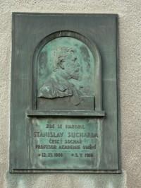 Pamětní deska Stanislav Sucharda Nová Paka