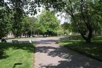 Praha, Bubeneč - park Generála Lázaro Cárdenase