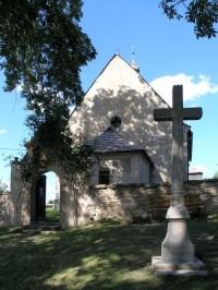 Dolní Město - kostel svatého Martina