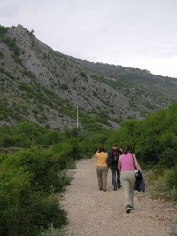 Blagaj - cesta na Stari grad