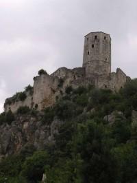 Počitelj - věž Gavrana Kapetanoviće