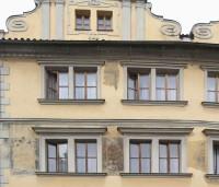 Praha, Malá Strana - dům U tří pštrosů