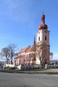Nepomuk - kostel svatého Jakuba