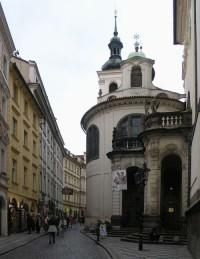 Praha, Staré Město - Vlašská kaple Nanebevzetí Panny Marie