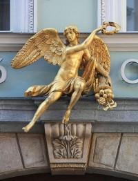 Praha, Staré Město - dům U Zlatého anděla (Celetná 29)